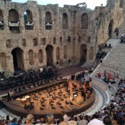 Performance at The Odeon of Herodes Atticus Theatre, Athens