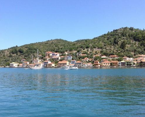 Ithaca Harbour, Greece