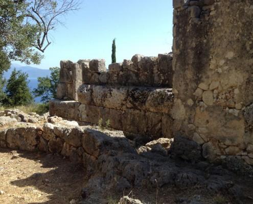 School of Homer ruins, Ithaca