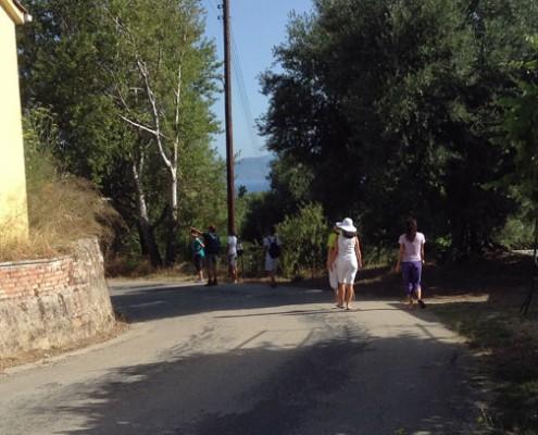 Walk through Stavros, Ithaca
